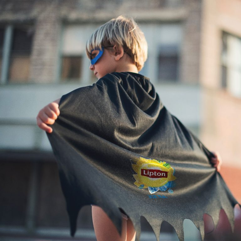 printed kids capes