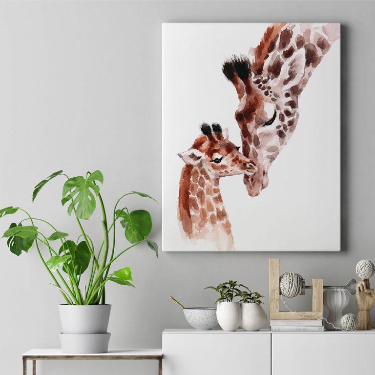 ODO_Canvas Frame Mockup - Giraffe_Web_1080