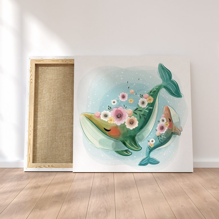 ODO_Canvas Frame Mockup - Whales_Web_1080