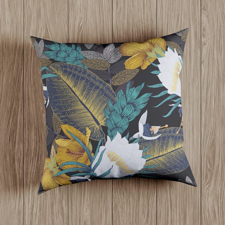 ODO_Scatter Cushion Mockup - Botanical Print_Web_1080