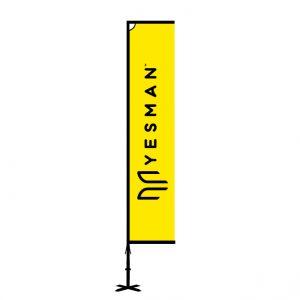 eco aluminium flag