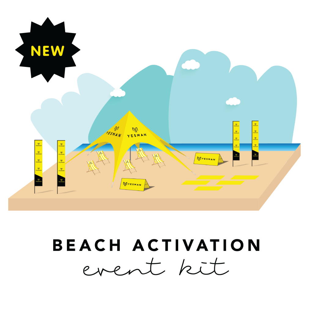 beach activation