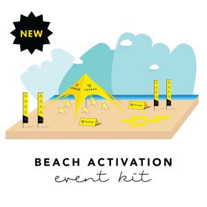 beach activation