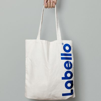Canvas Tote Bag MockUp - labello